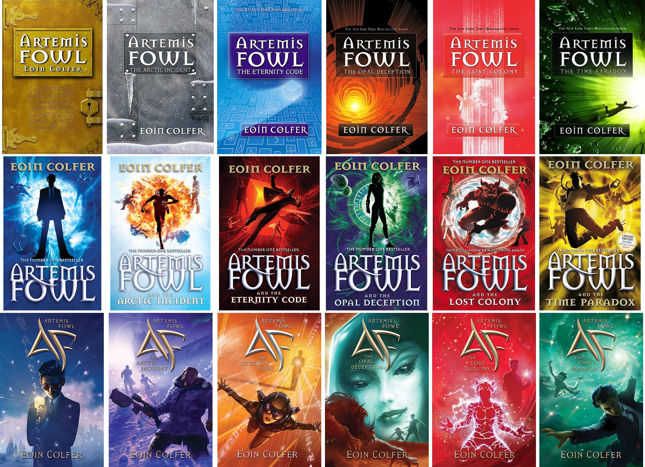 Artemis Fowl, version BD ! – Le Blog des Livres qui Rêvent